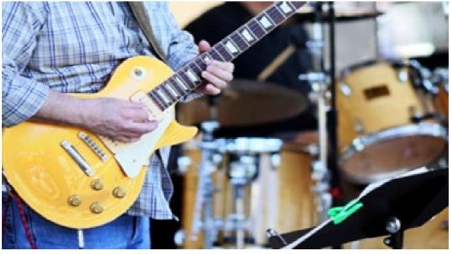 Os músicos e o uso de instrumentos