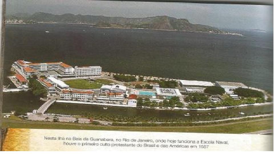 Ilha na Baia de Guanabara