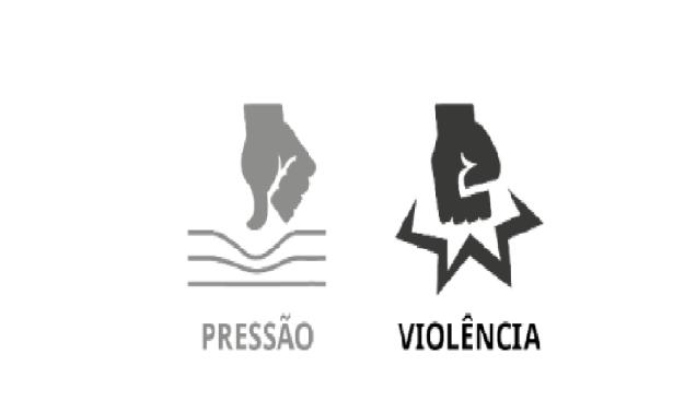 menos violência pode ir junto com níveis (muito) altos de pressão.